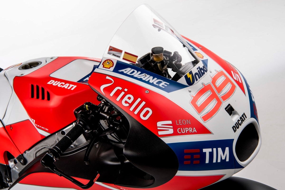What We Learned from the Ducati MotoGP Launch