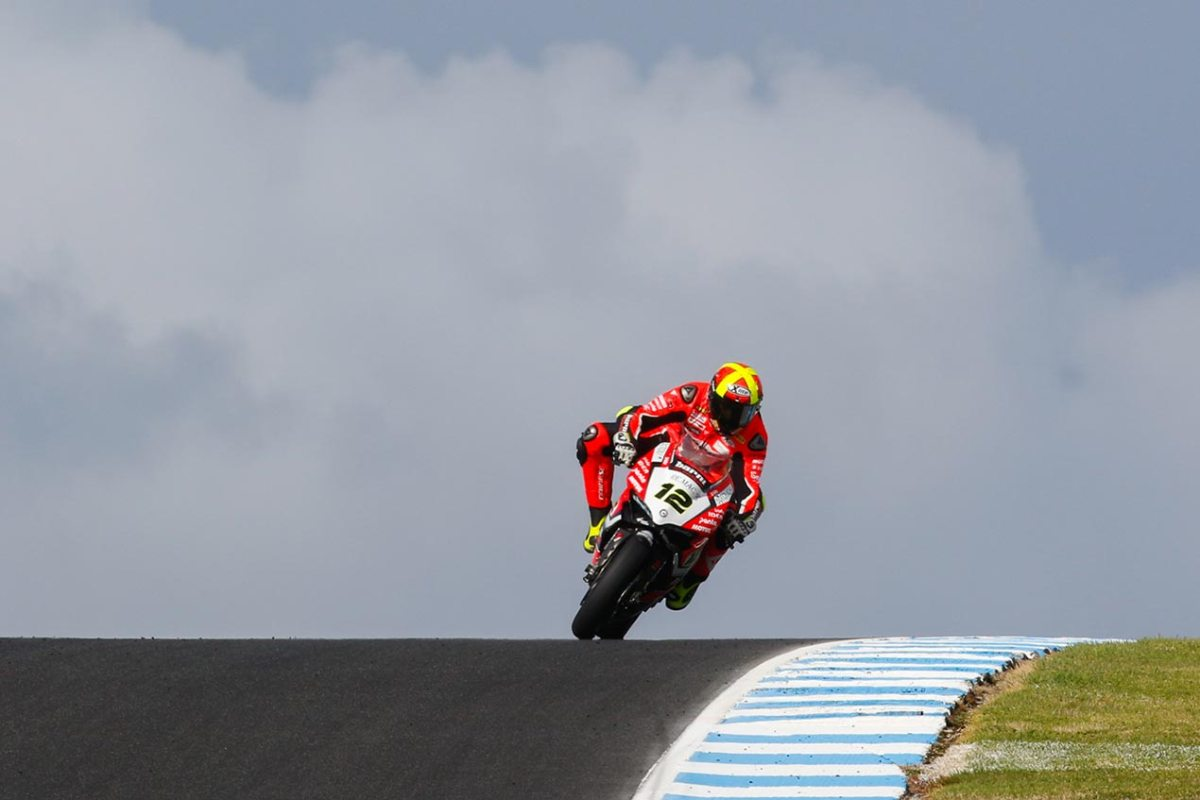 Phillip Island WorldSBK Test - Day 1: Fores On Top
