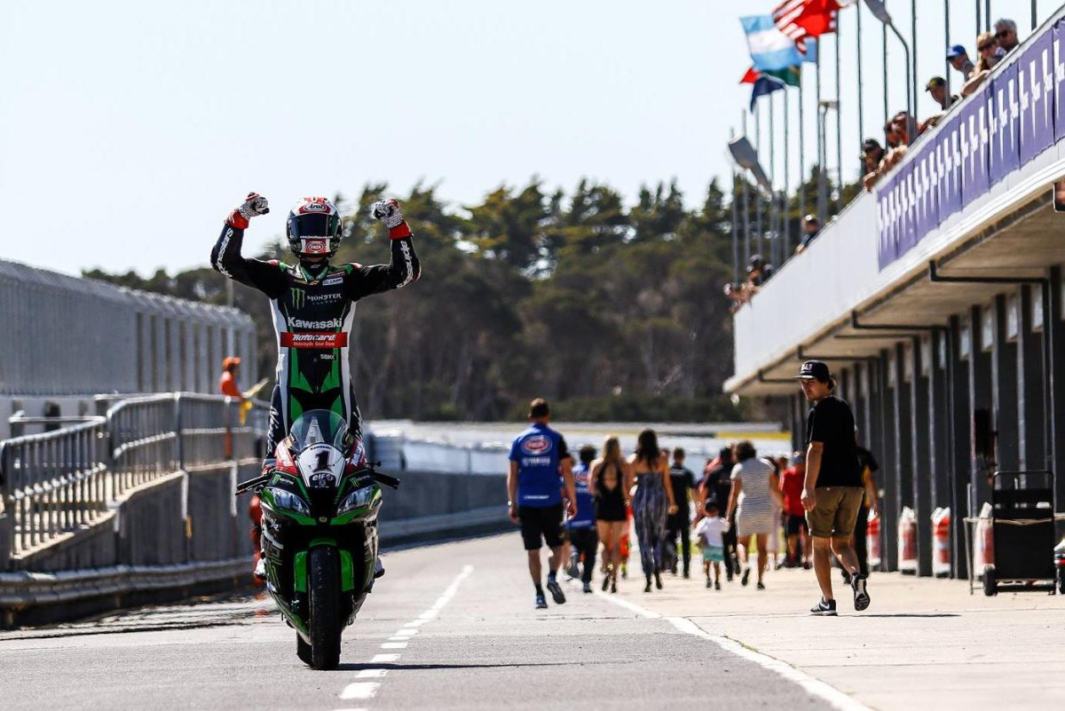"WSBK: Rea Does ""The Double"" at Phillip Island in Race 2"