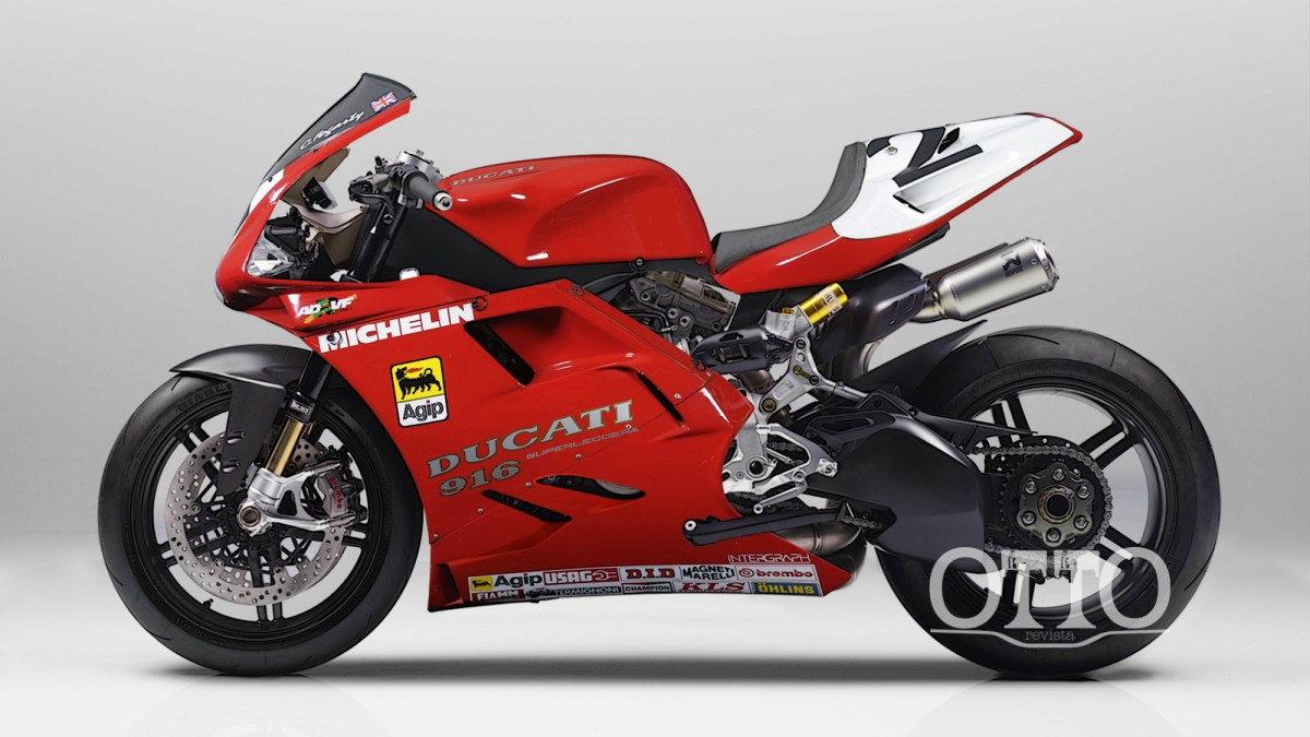 How About a Ducati 916 Superleggera?