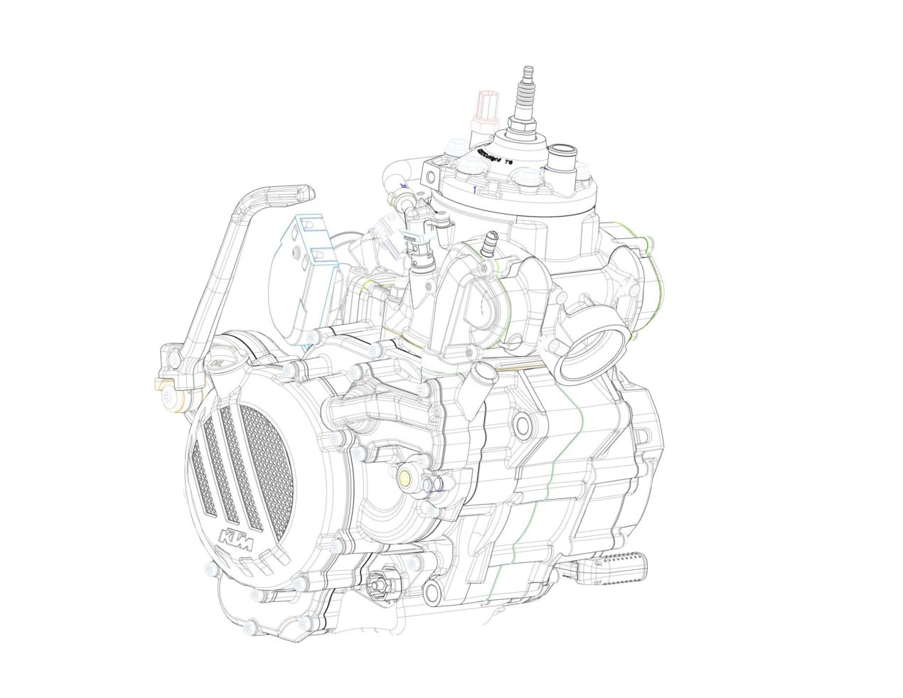 Ktm Debuts Fuel Injection For Two Stroke Motorcycles