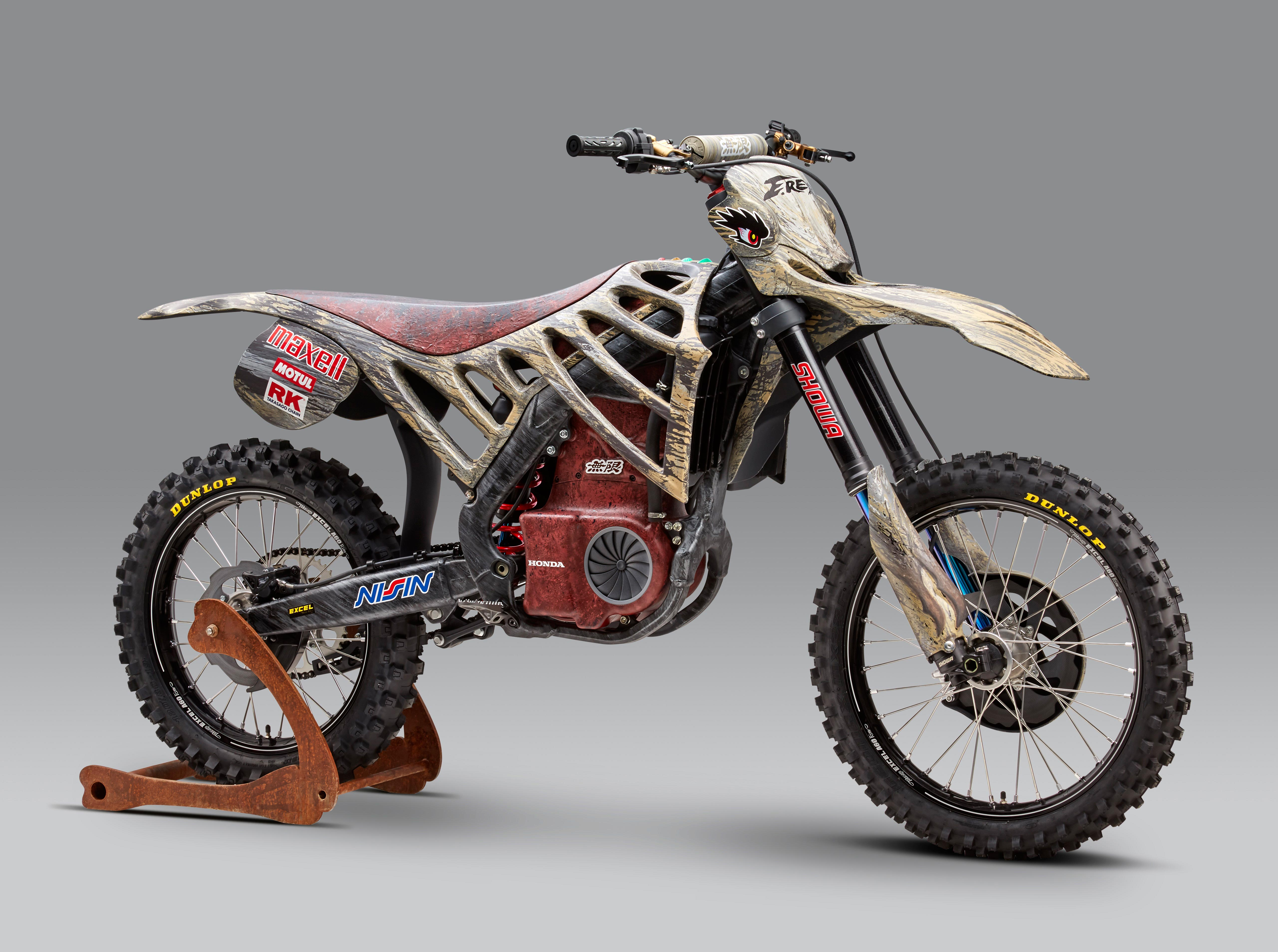 mugen debuts an electric motocross race bike asphalt rubber. Black Bedroom Furniture Sets. Home Design Ideas