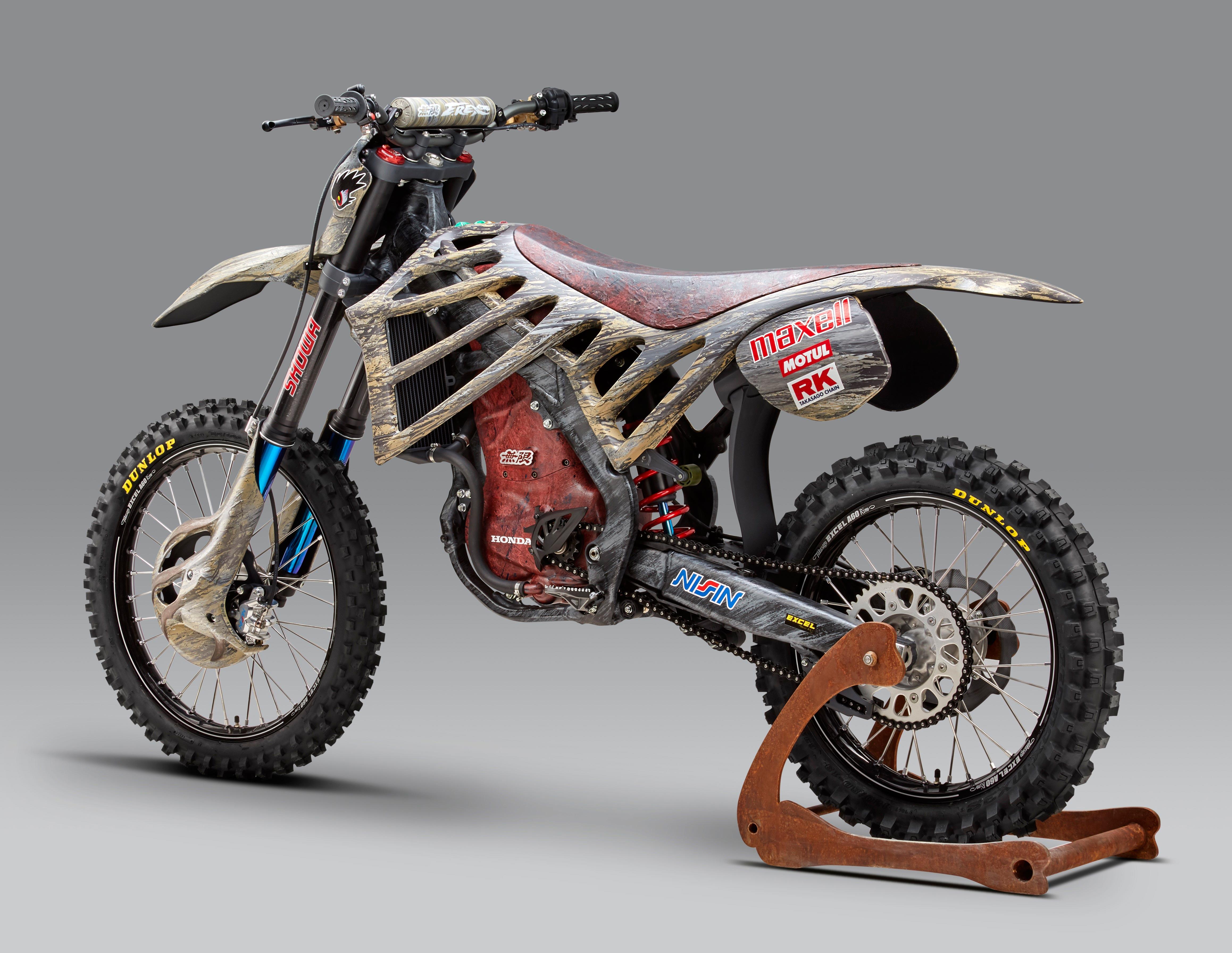 Mugen Debuts An Electric Motocross Race Bike
