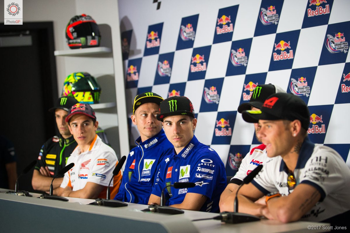 Thursday MotoGP Summary at Austin: The Bad New Days, And Talk of Tires