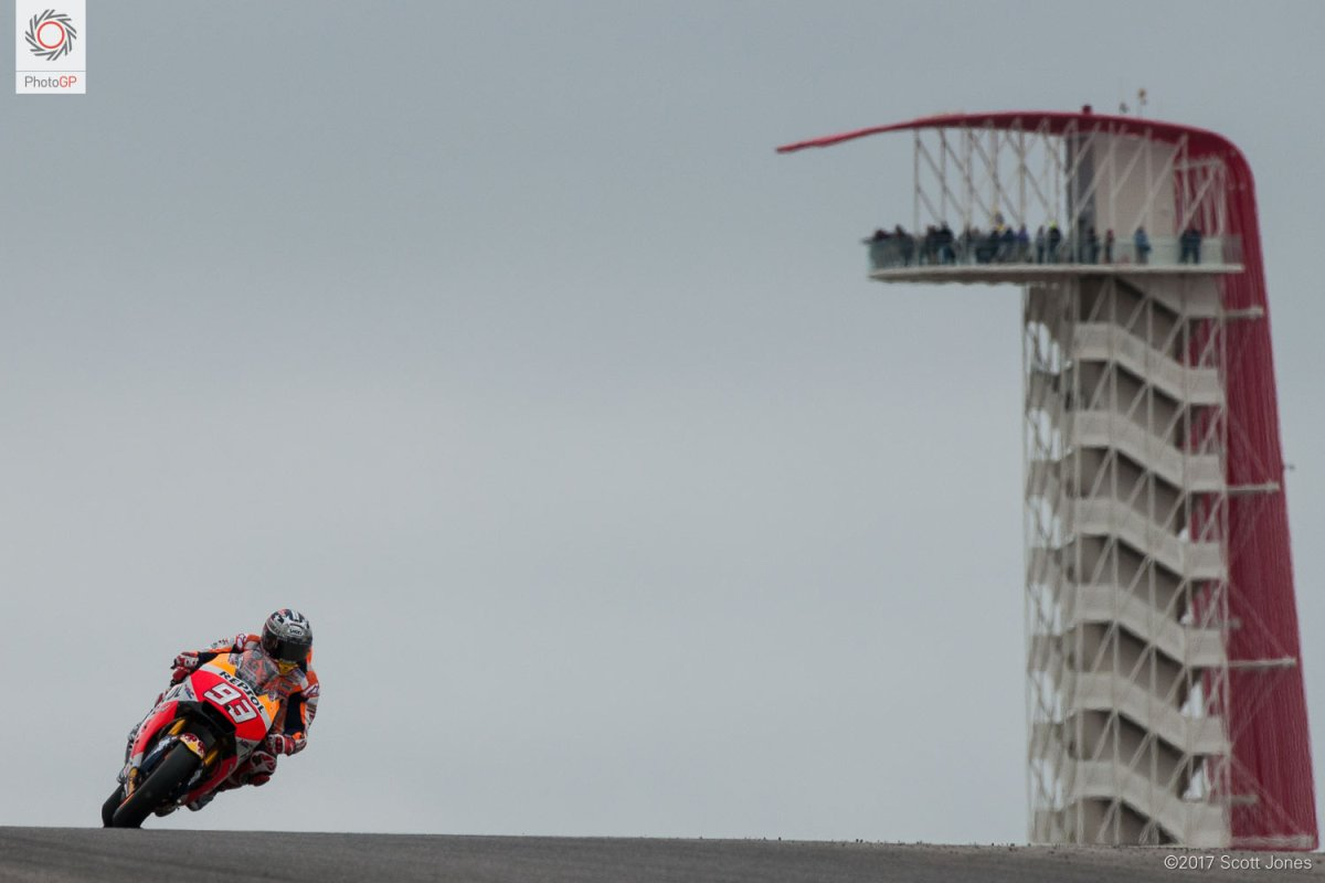 Marc Marquez Continues His Streak at the Americas GP