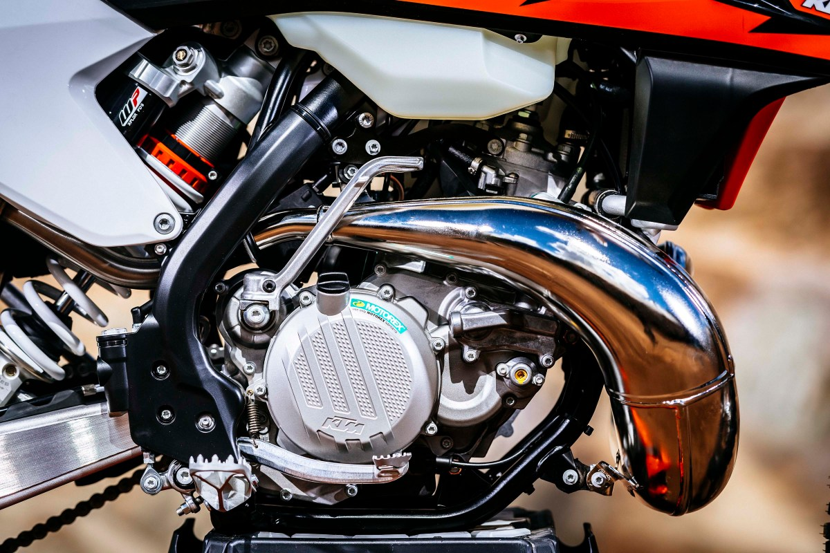 Here Is KTM's Fuel Injected Two-Stroke Motorcycle