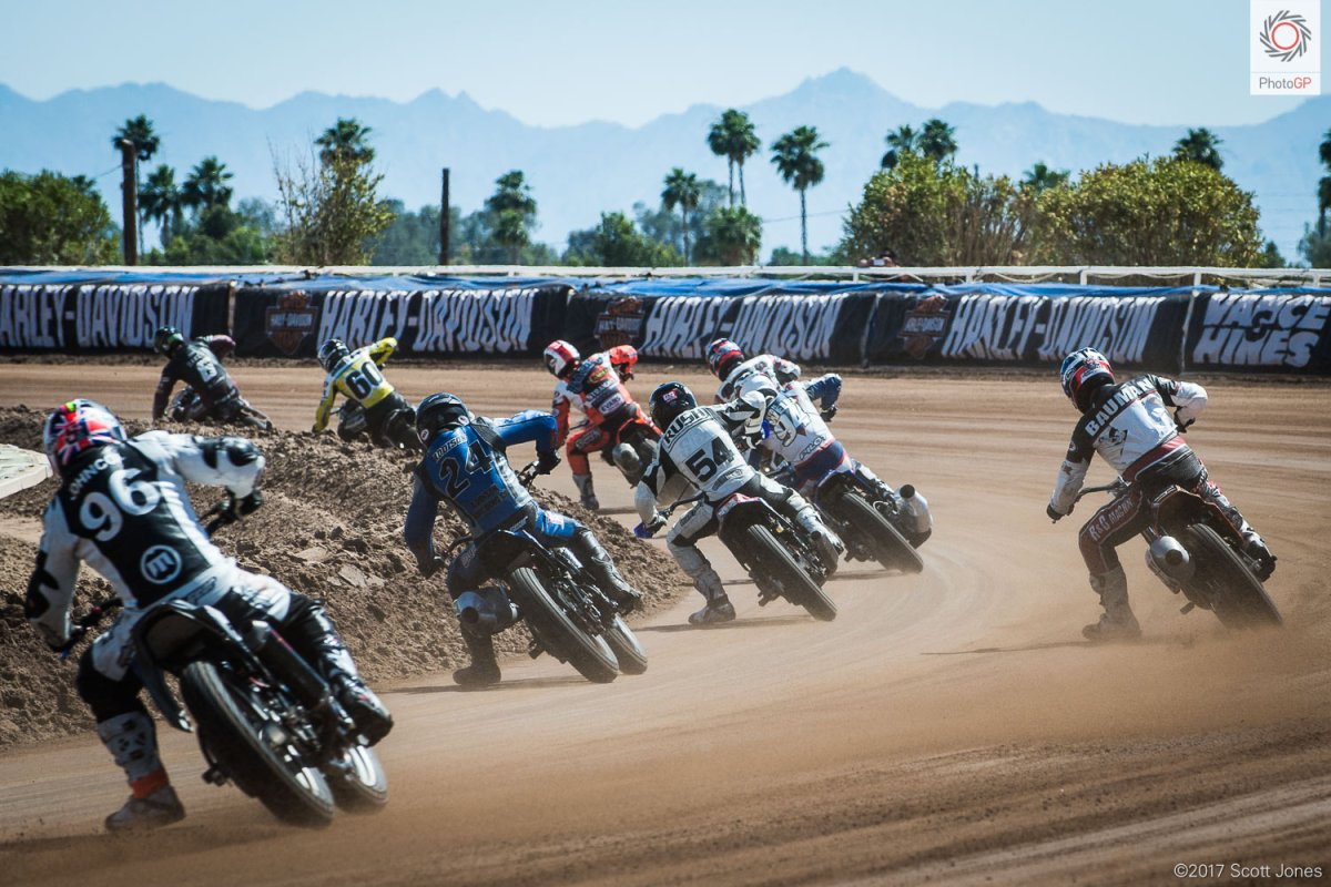 American Flat Track at the Arizona Mile with Scott Jones
