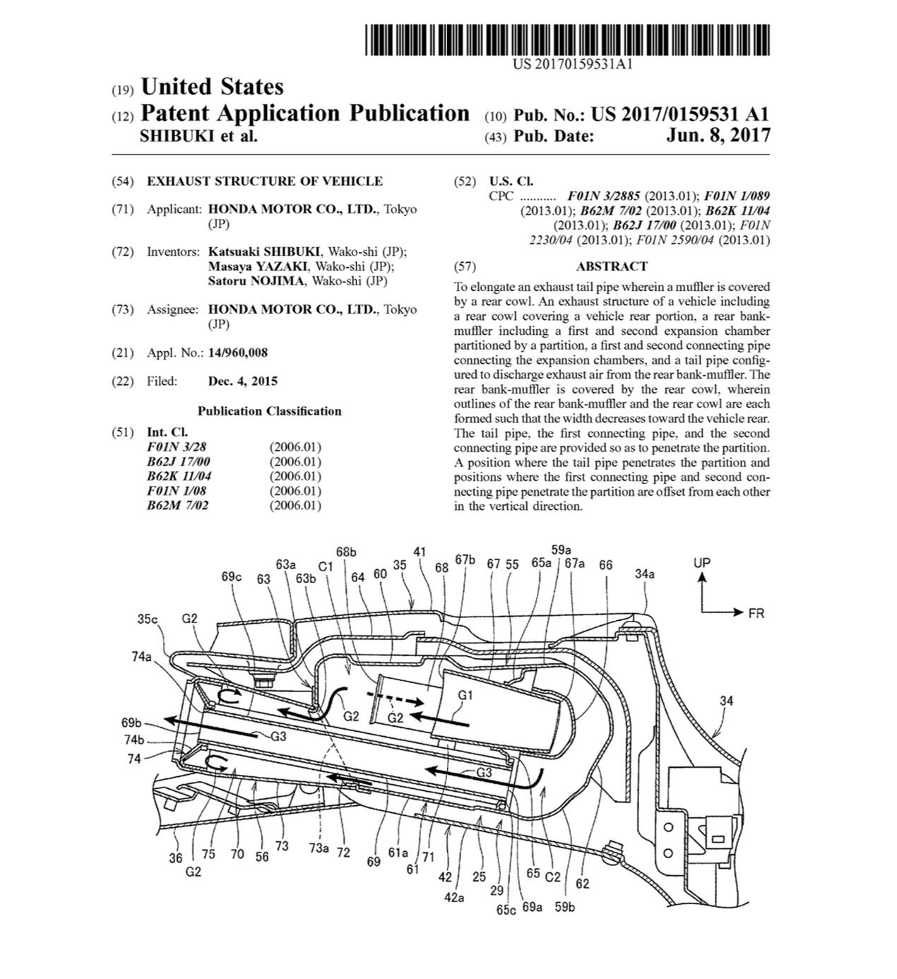 Uspto archives asphalt rubber i thought when i wrote this piece the good the bad and the ugly about motorcycle patents that we would see a more sophisticated handling of sciox Image collections
