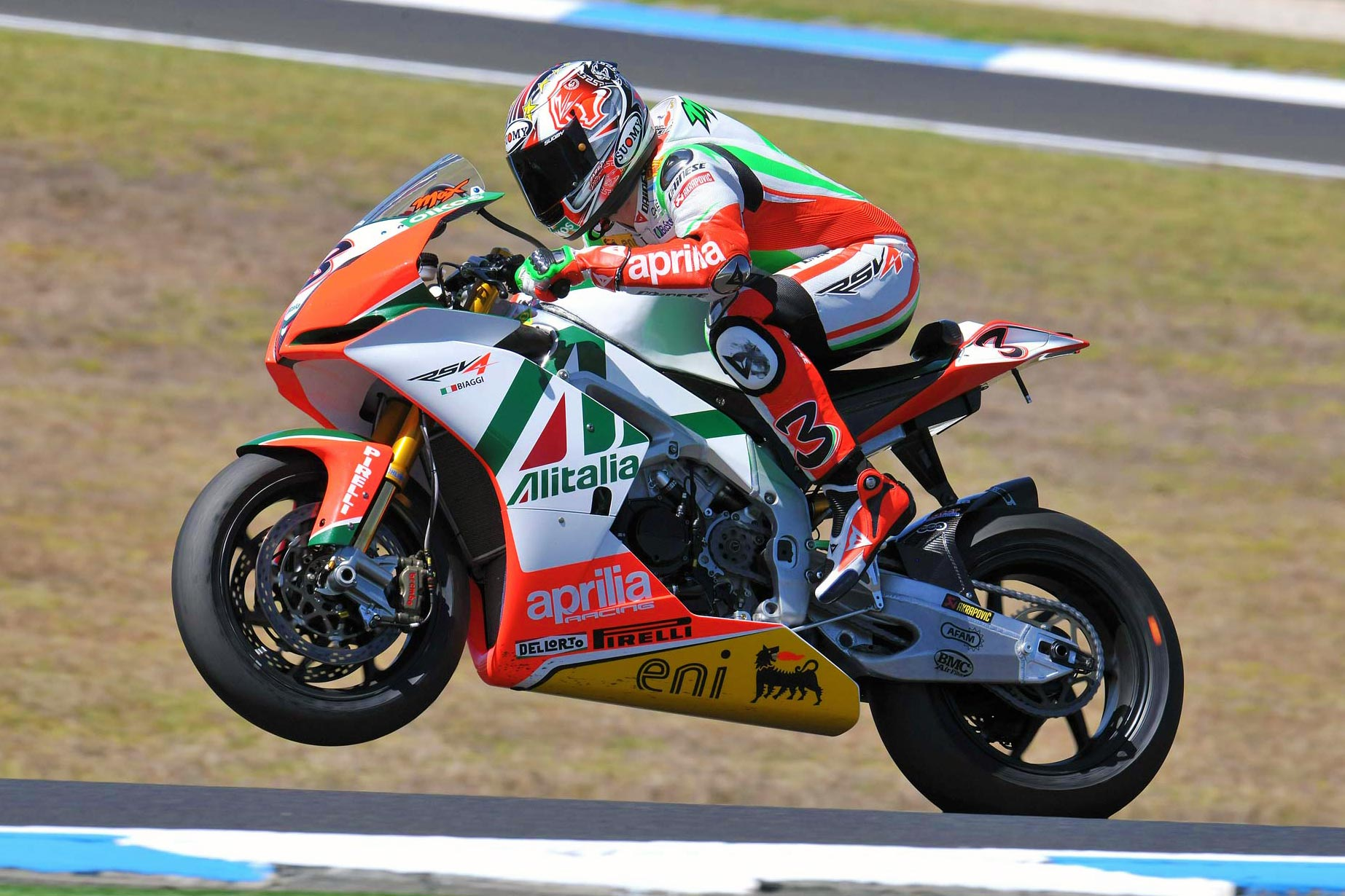 Max biaggi declared stable after supermoto crash asphalt rubber good news concerning two time world superbike champion max biaggi as the italian rider has been declared stable after his supermoto training crash last altavistaventures Gallery