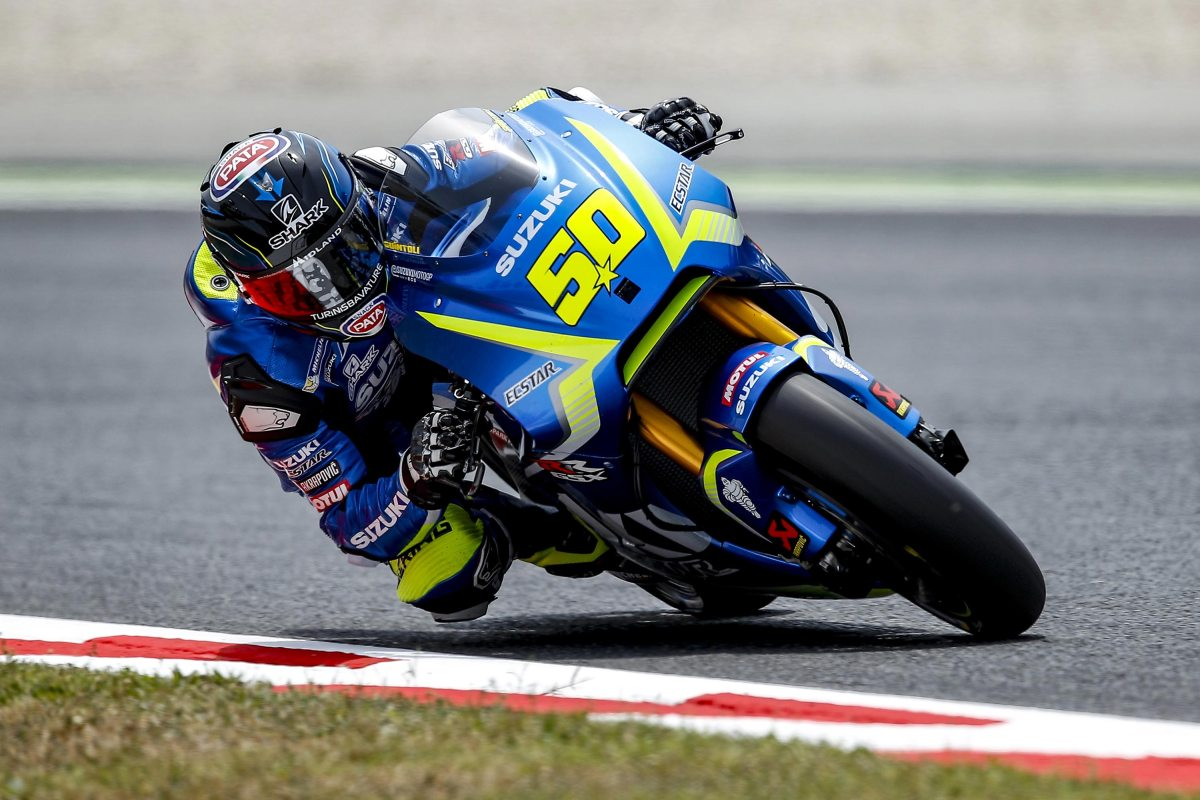 Sylvain Guintoli, About The Suzuki GSX-RR vs. GSX-R1000