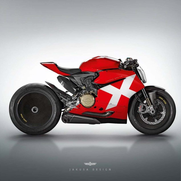 Yamaha Electric Motorcycle >> Assorted Ducati Concepts by Jakusa Design - Asphalt & Rubber