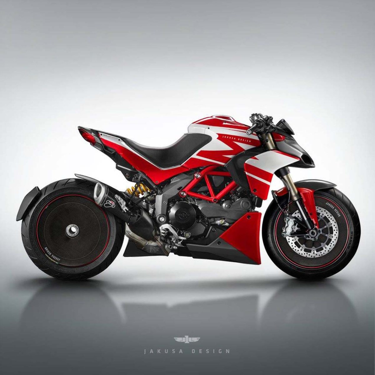 Assorted Ducati Concepts by Jakusa Design