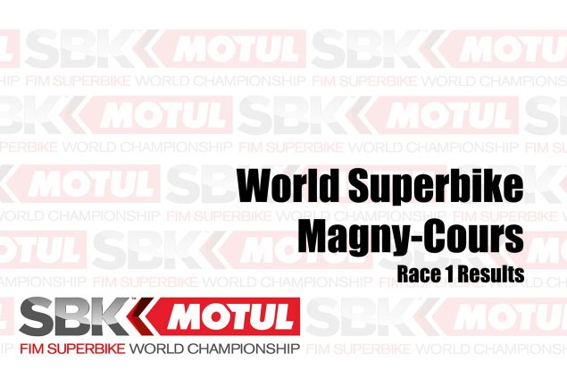 WorldSBK Race Outcomes from Magny-Cours – Race 1
