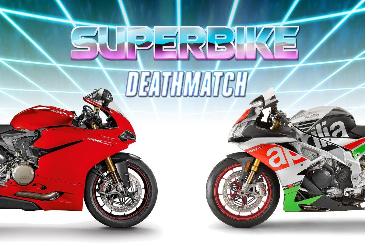 Superbike Deathmatch Round #1: Aprilia vs. Ducati