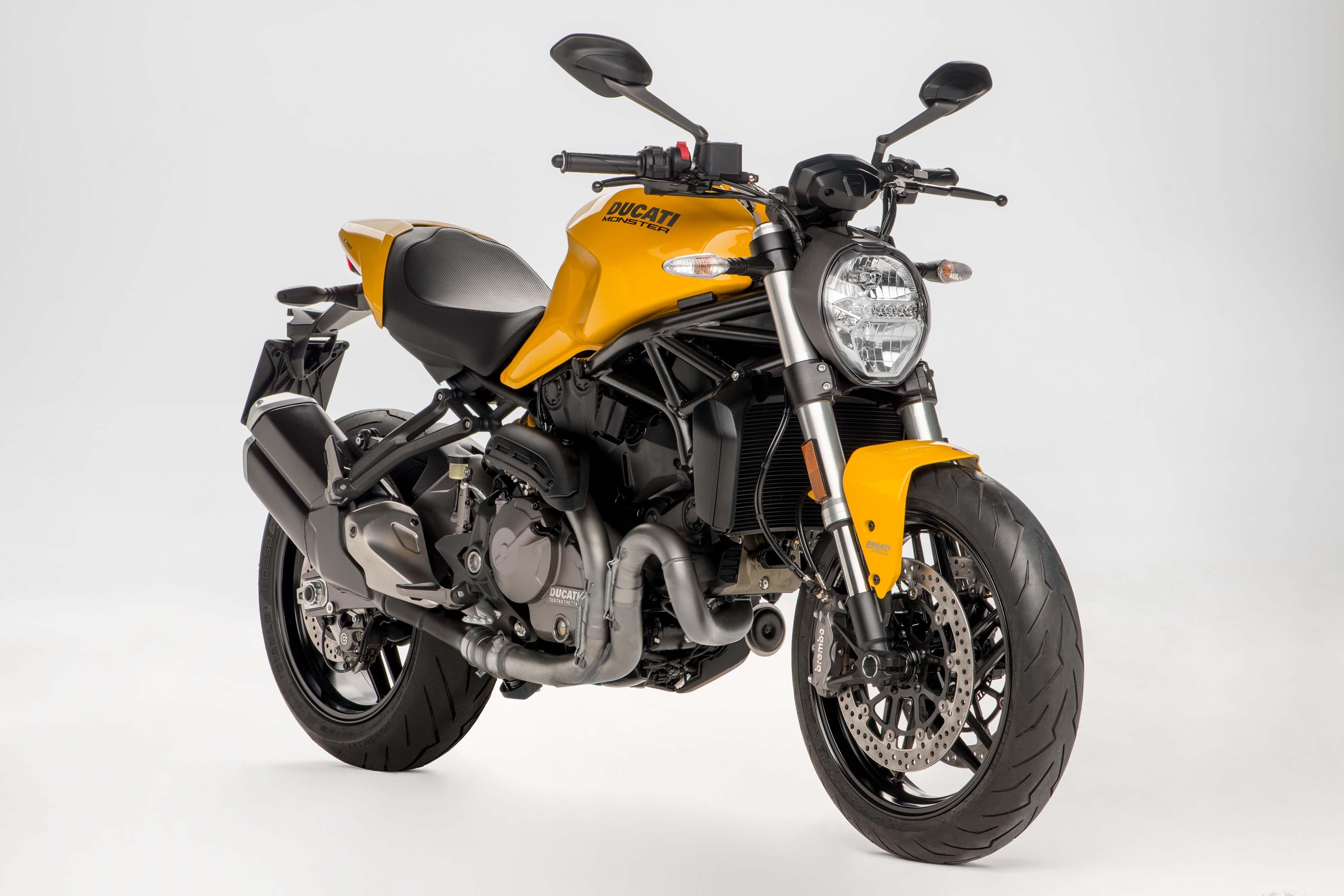 Ducati Monster 821 >> Ducati Monster 821 Gets Updated For 2018 Asphalt Rubber