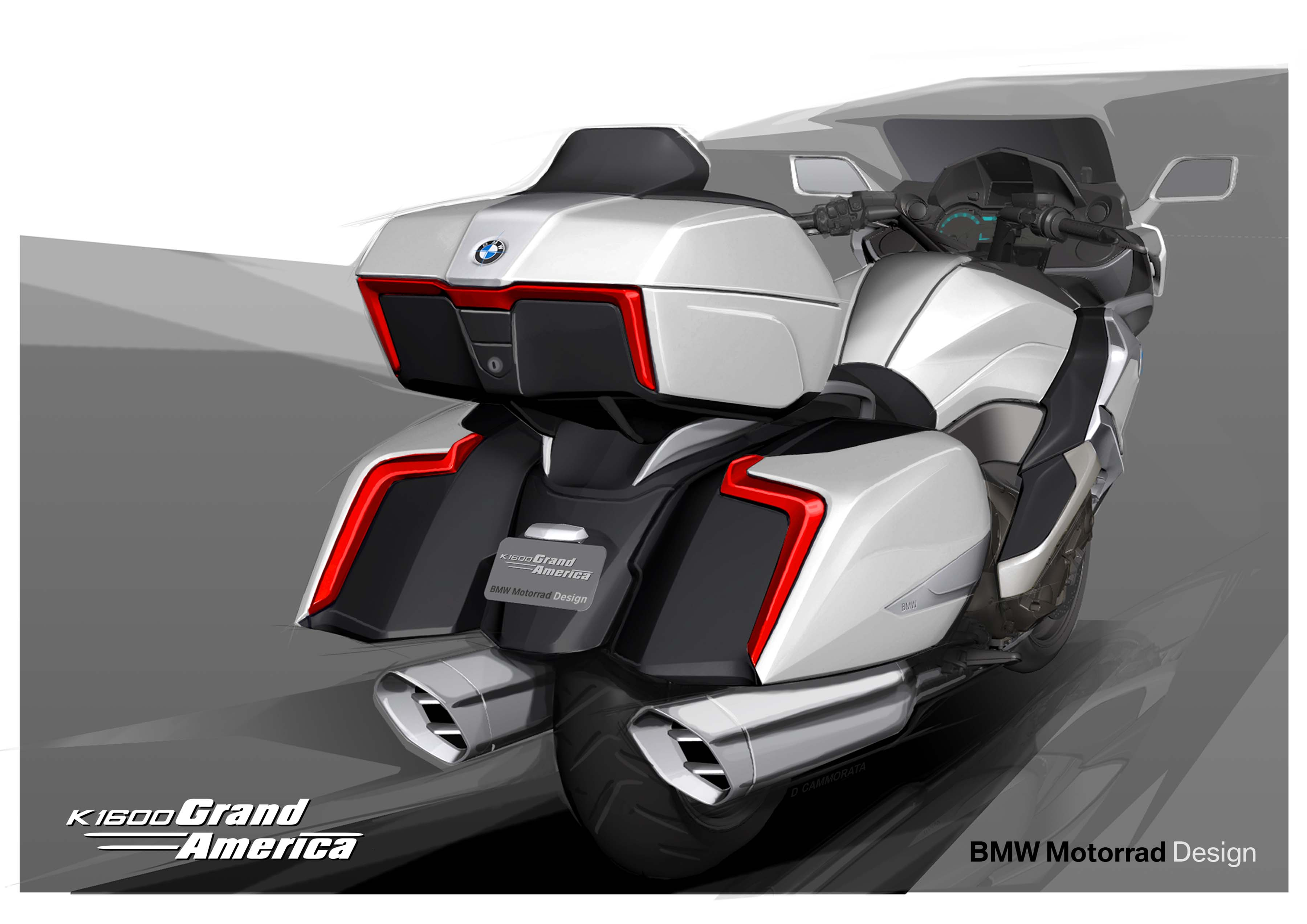 BMW K1600 Grand America - Touring, The American Way ...