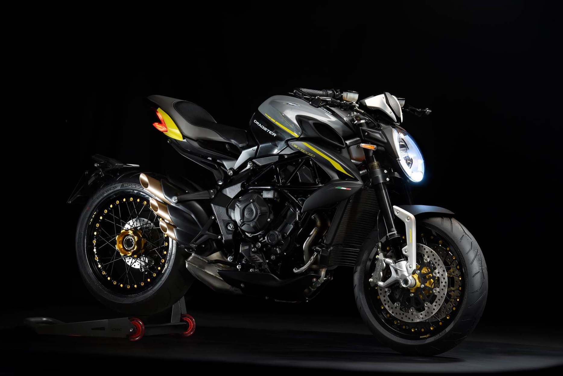 no one seemed to notice that the mv agusta dragster 800 rr is new for the 2018 model year. Black Bedroom Furniture Sets. Home Design Ideas