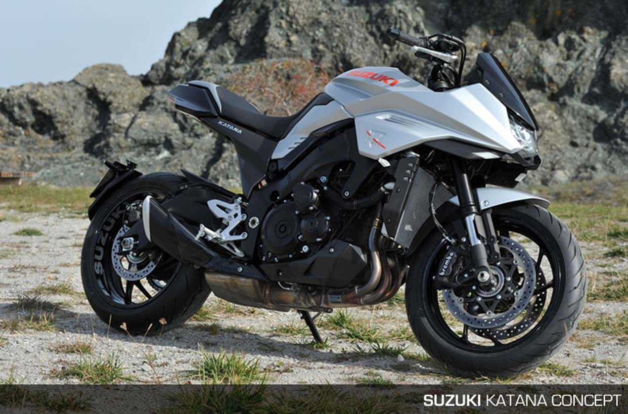 That Suzuki Katana 3.0 Concept Though... - Asphalt & Rubber