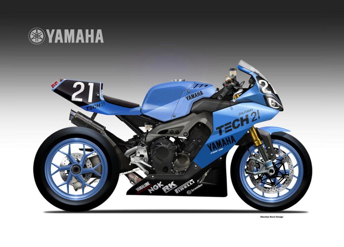 Yamaha YZR-09 Endurance Concept by Oberdan Bezzi