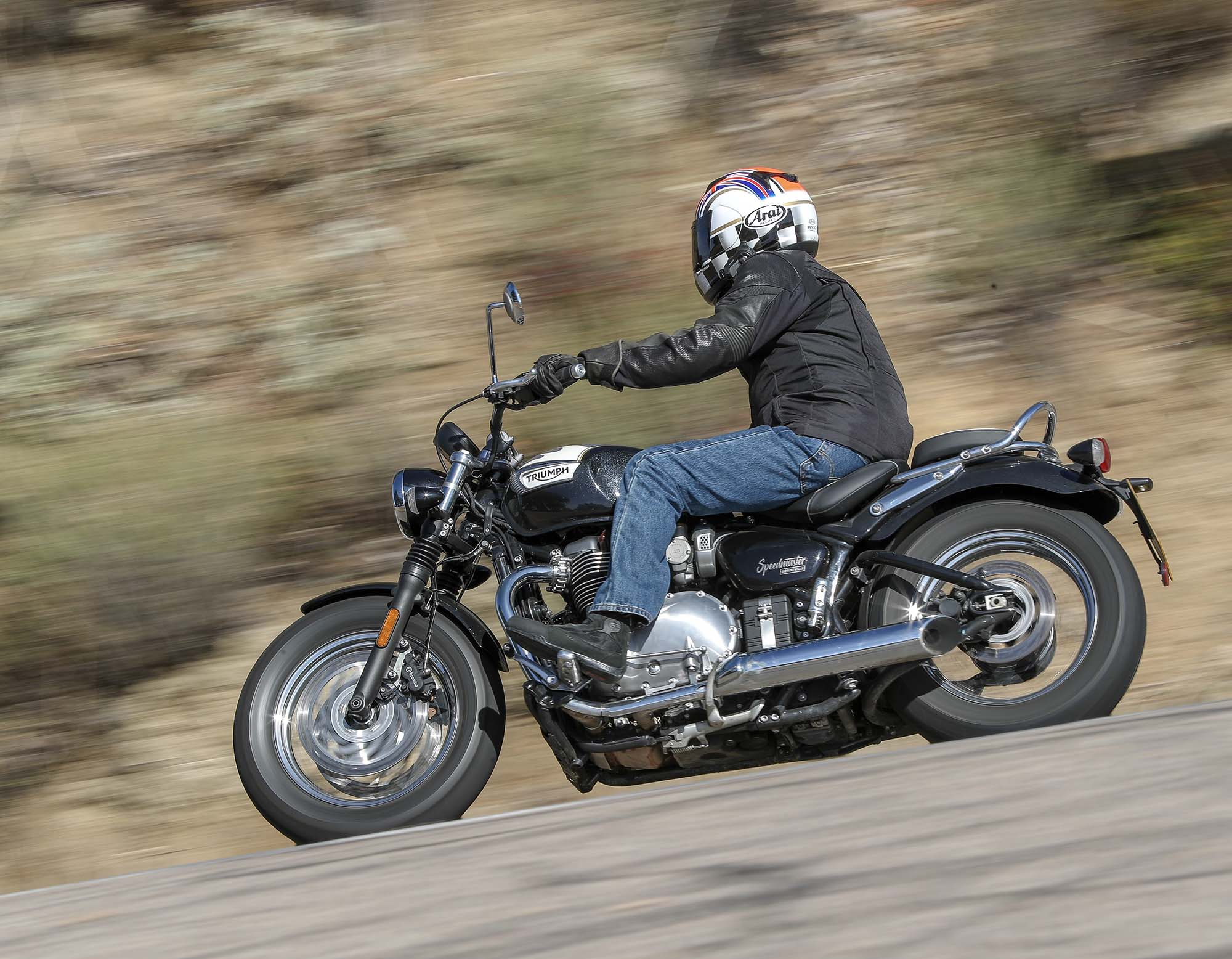 A Review Of The 2018 Triumph Speedmaster Asphalt Rubber
