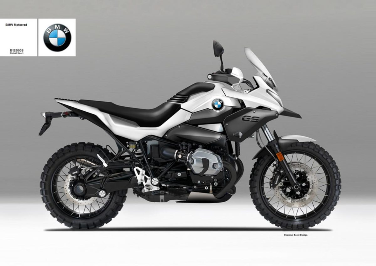 BMW R1250 Global Sport Concept by Oberdan Bezzi