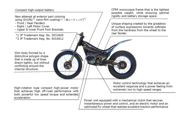 Yamaha S Super Trick Electric Trials Bike Debuts Asphalt