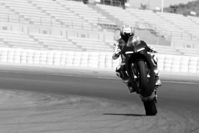 Casey Stoner Talks About Driving the Ducati Panigale V4