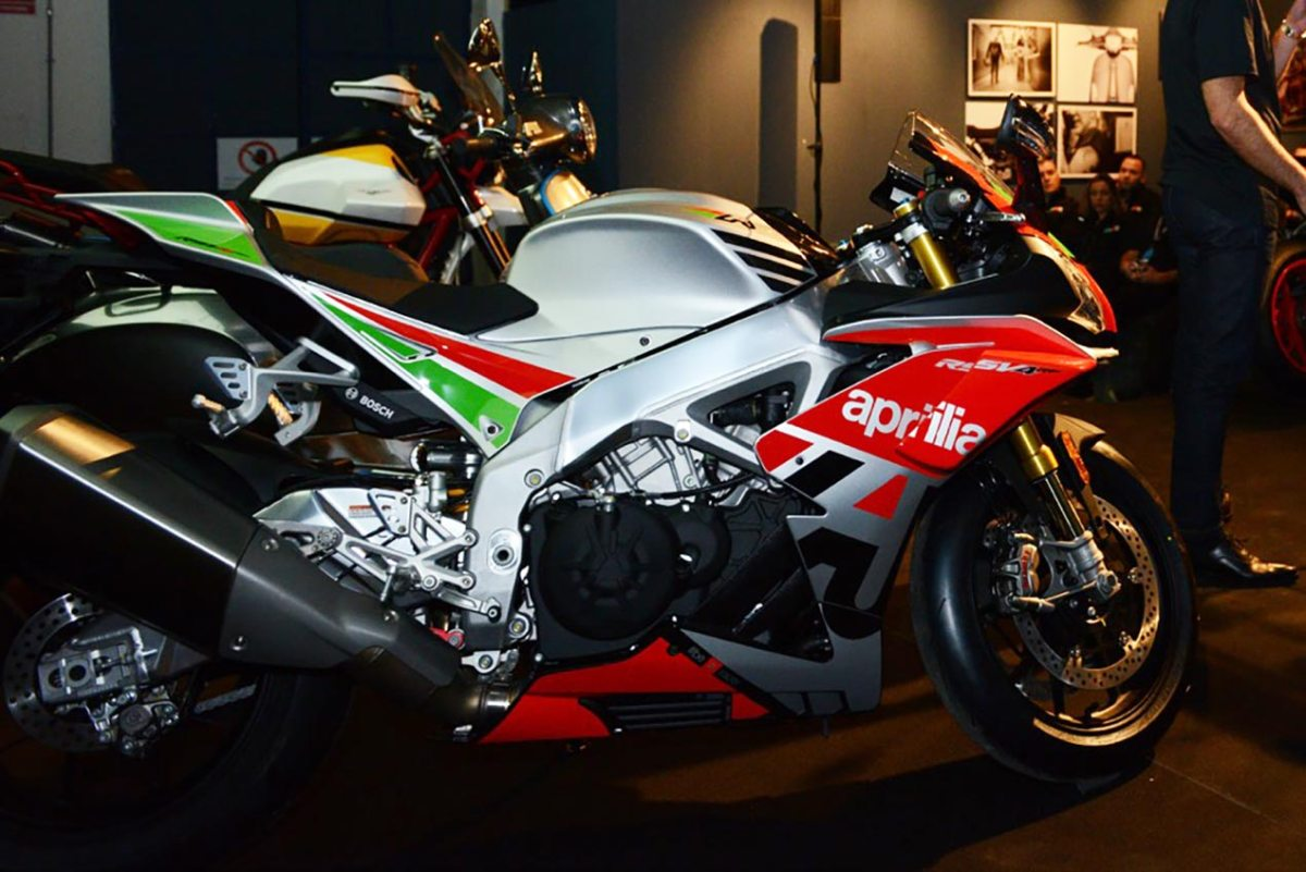New Aprilia RSV4 RF LE to Debut with Wings