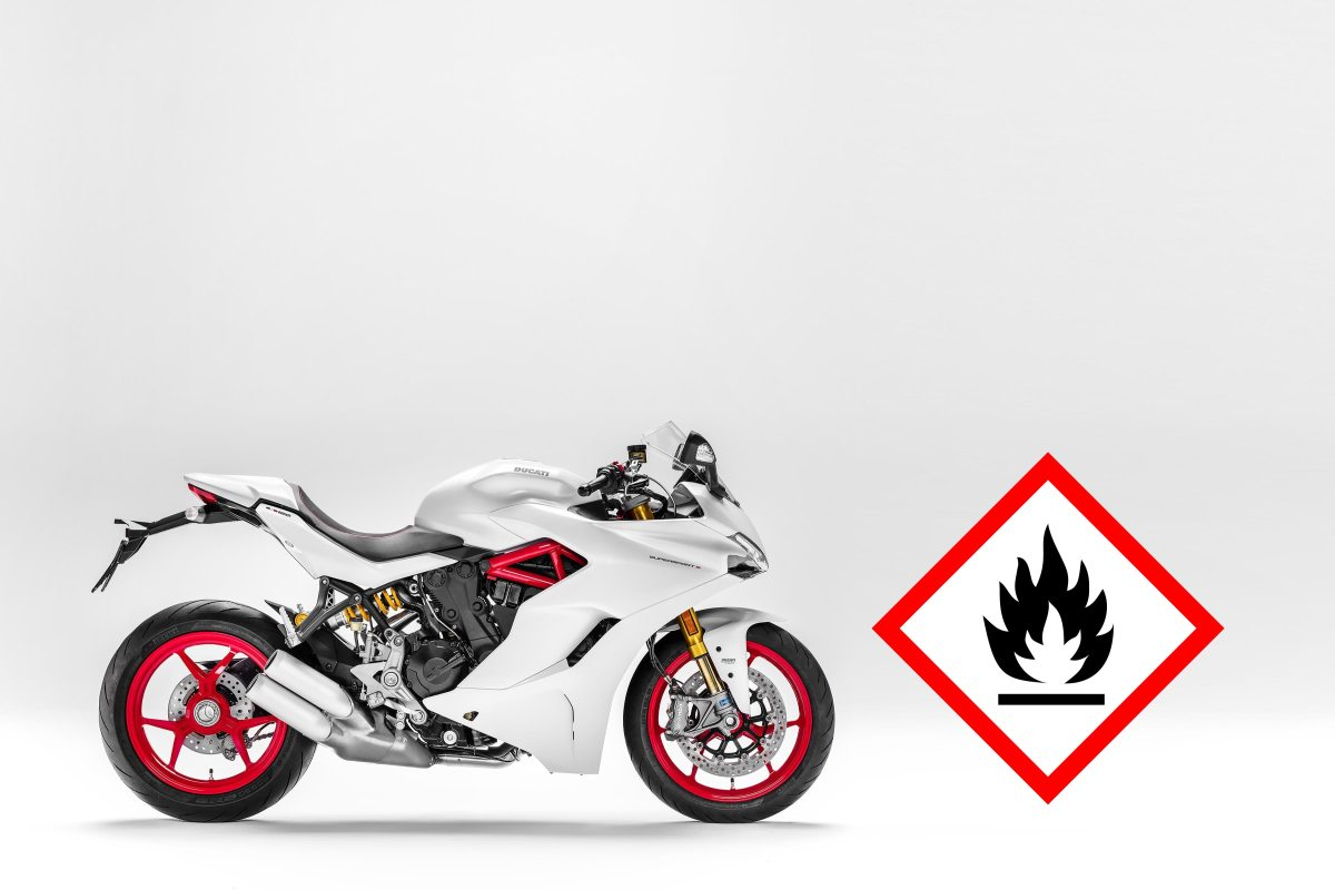 Ducati Supersport Recalled for Fire Hazard