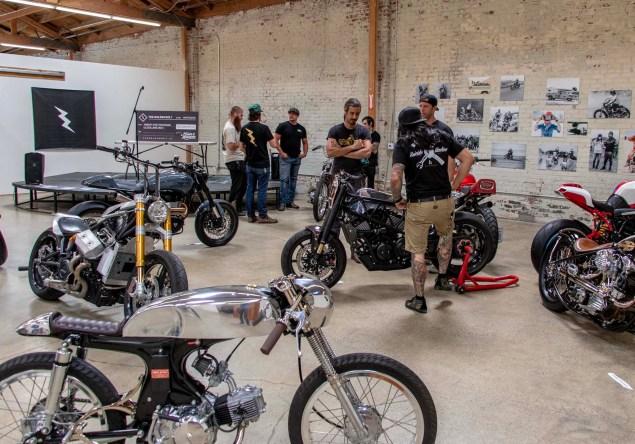 At The Golden Bolt Motorcycle Show Asphalt Rubber