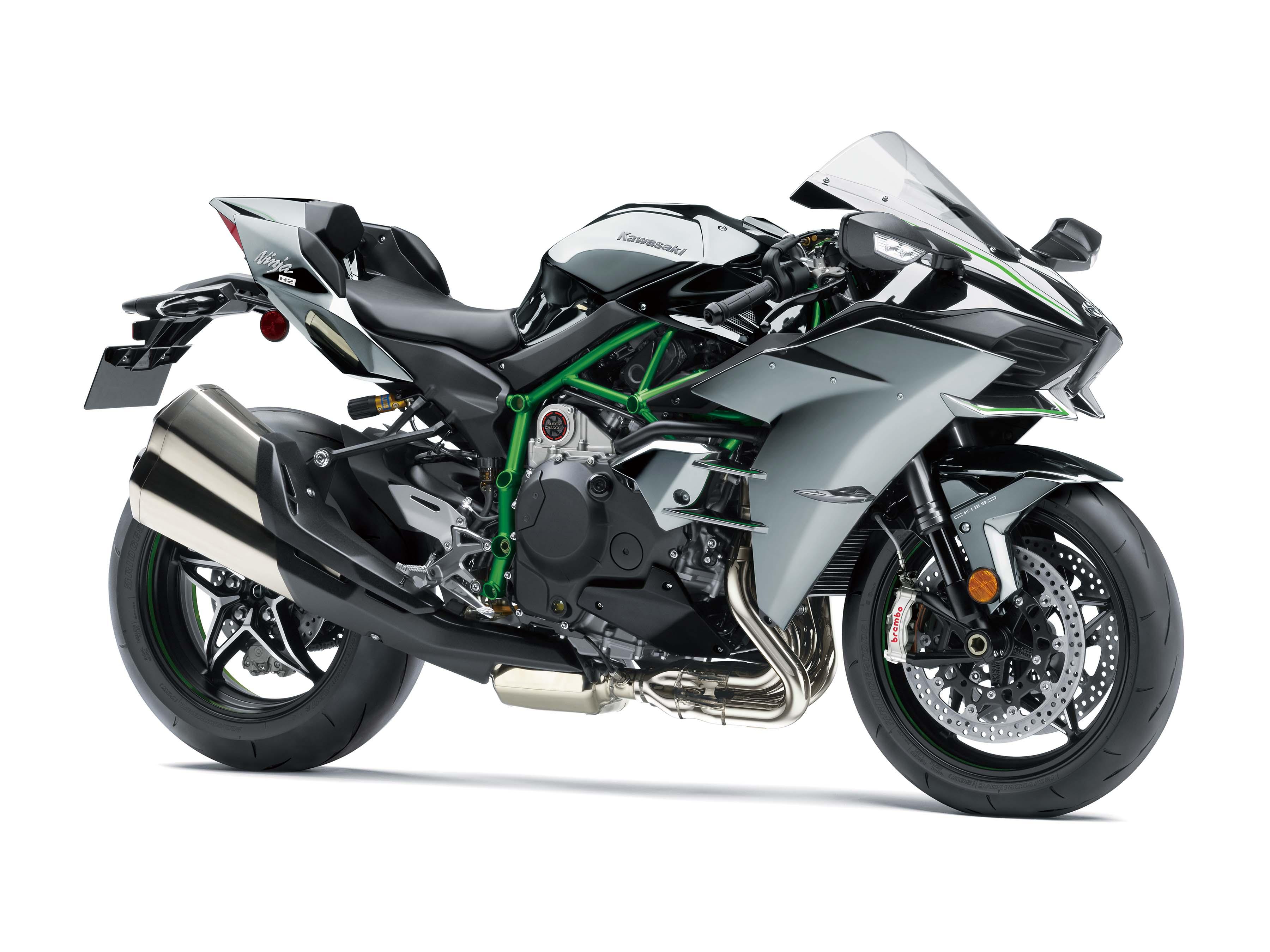 Kawasaki Ninja H2 Gets Updates & More Power for 2019