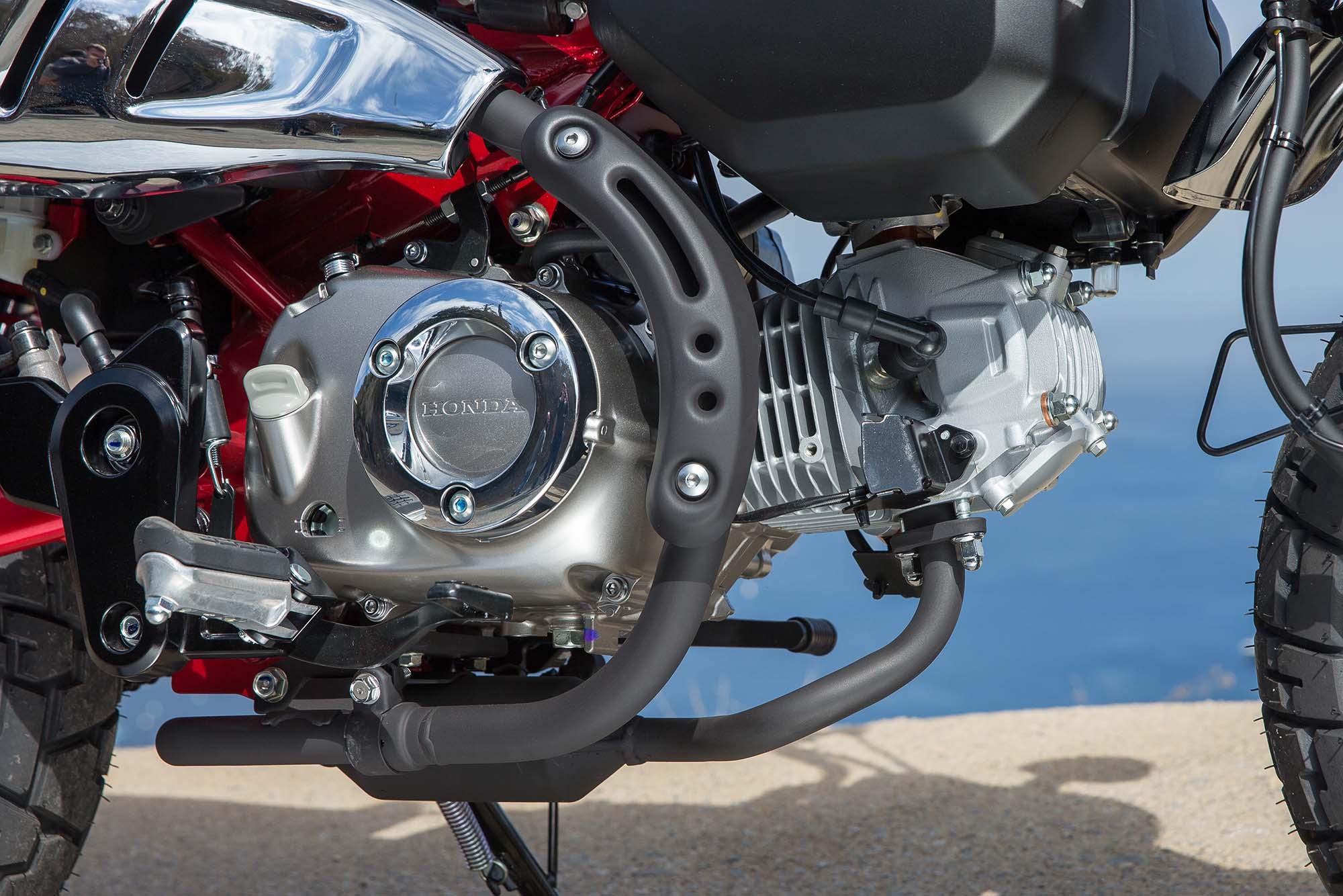 A Review Of The Honda Monkey Mini Moto Asphalt Rubber