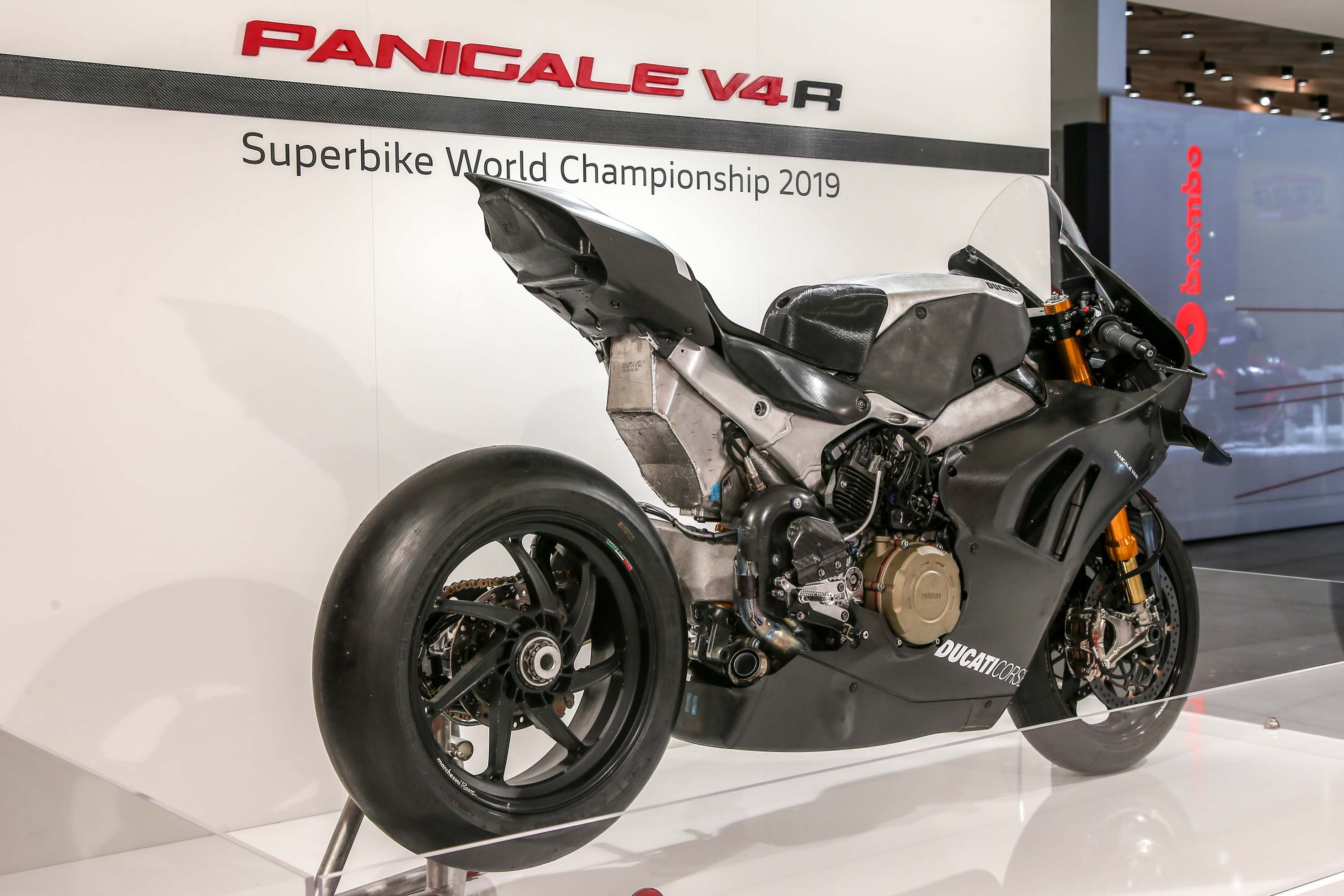 Ducati Panigale V4 RS19 Is Ready for Racing Duty - Asphalt