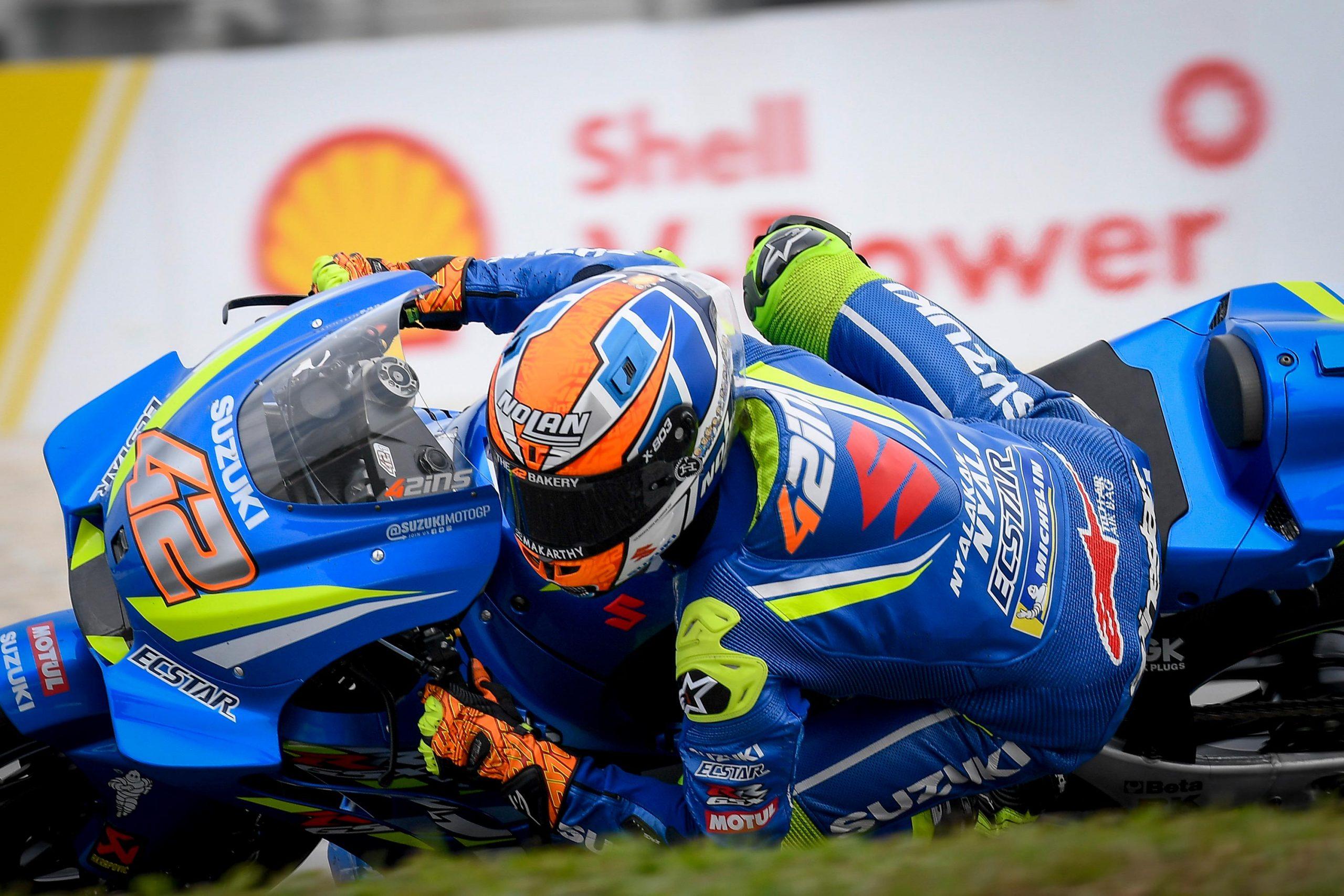 Friday Motogp Summary At Sepang Fast Rins Yamaha Revival Marquez Saves Asphalt Rubber