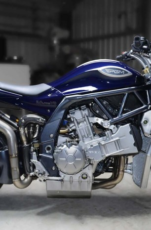 This 2.0L V8 Sport Bike From Australia is Our Kind of Crazy