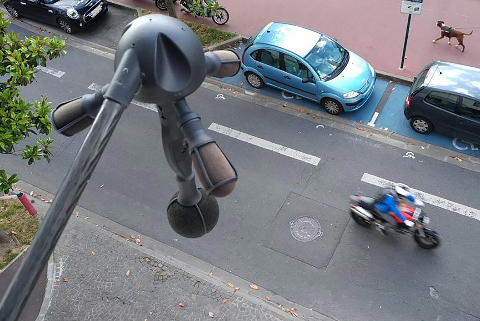 Paris Adds Noise Cameras to Catch Loud Exhaust Pipes