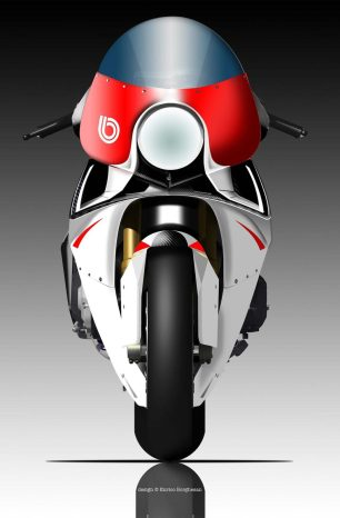 """Bimota KB4 Spotted on the Road With """"Mystery Duct"""" on Its Side"""