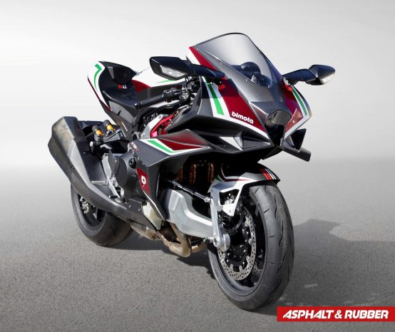 Here Are Photos of the Production Version of the Bimota Tesi H2