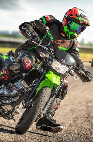 Kawasaki Surprises with KLX300SM Supermoto for 2021
