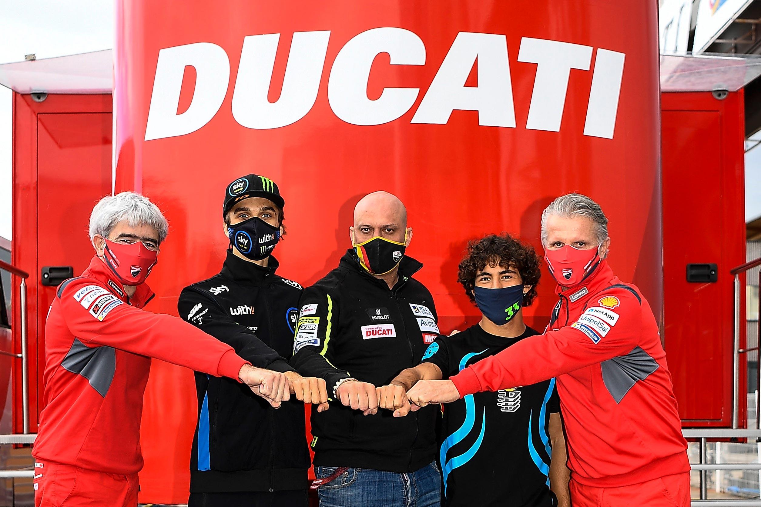 Luca Marini & Enea Bastianini Confirmed at Avintia Ducati for 2021 -  Asphalt & Rubber