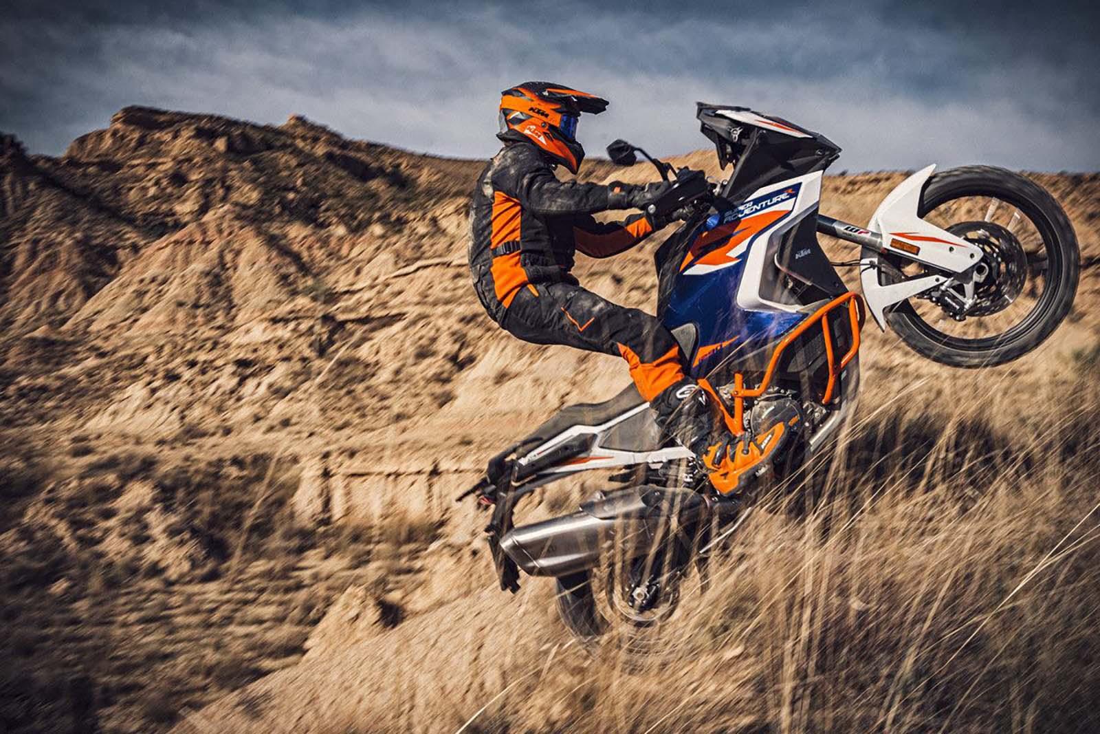 Обновленный KTM 1290 Super Adventure R появится в 2021 году, как и ожидалось