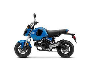 2022 Honda Grom Candy Blue LHP