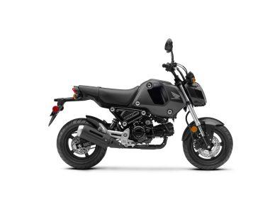 2022 Honda Grom Matte Black Metallic RHP