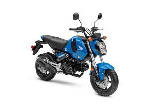 2022 Honda Grom ABS Candy Blue FR34