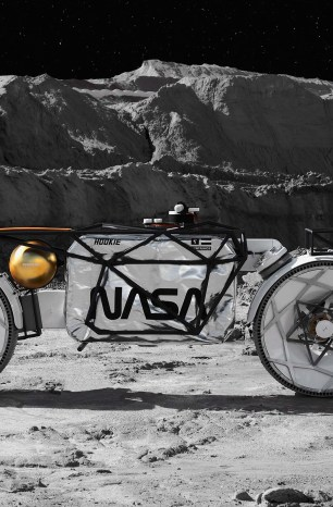 For the Next Time You Go Motorcycling on the Moon…