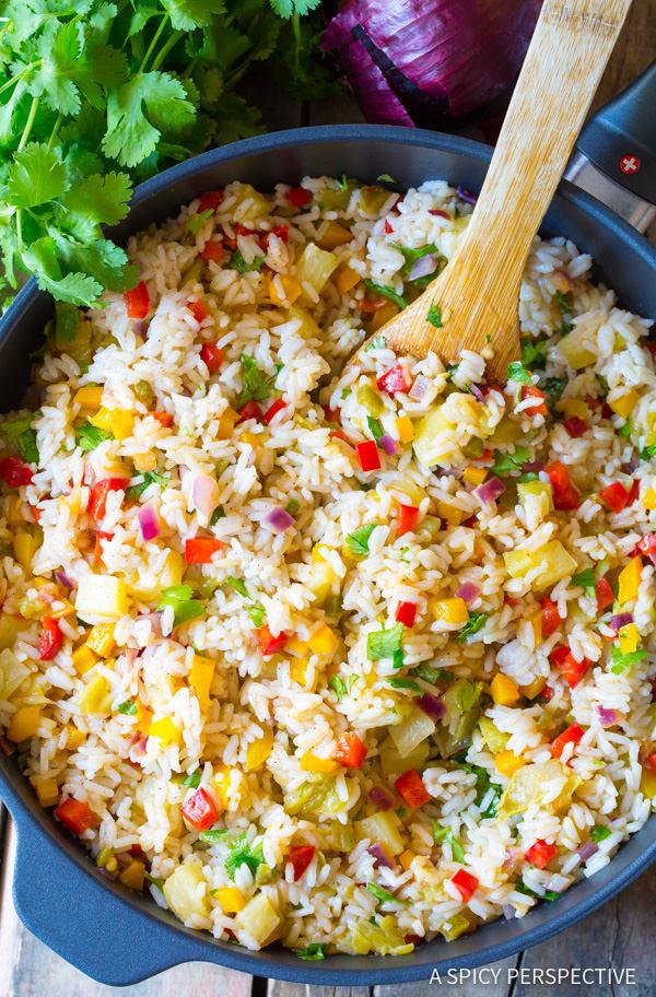 Healthy Confetti Rice Recipe