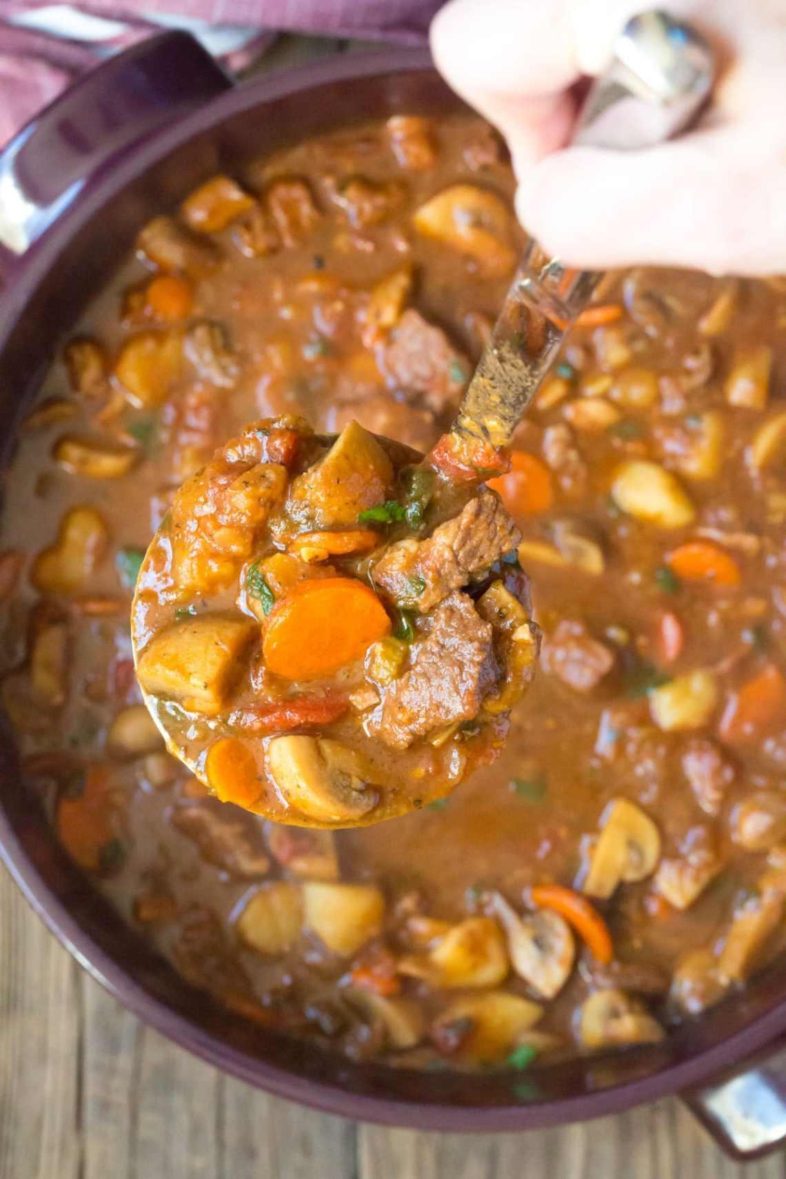 The BEST Beef Stew Recipe (3 Ways!) + Video - A Spicy ...