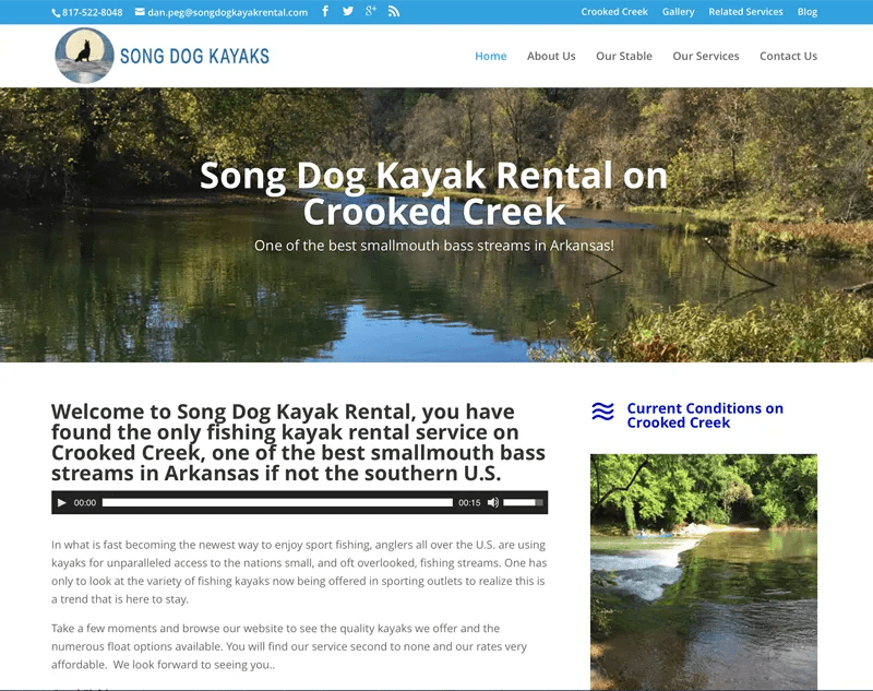 Song Dog Kayak Rental