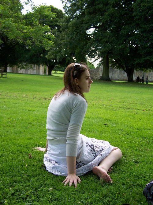 Amanda looking thoughtful
