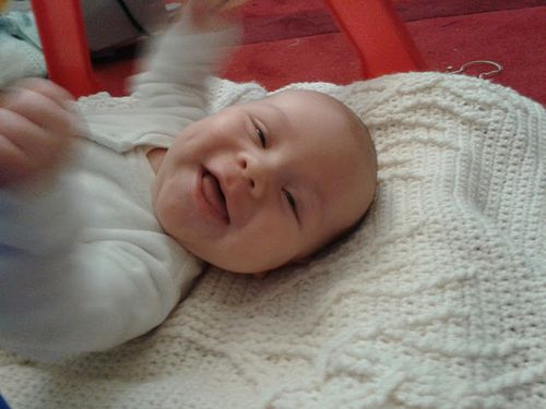 Smiley baby Oscar